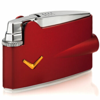 Зажигалка газовая Ronson Mini Varaflame Metallic Red