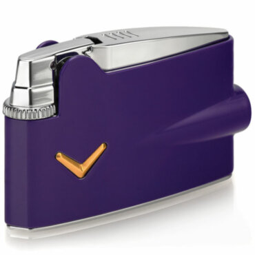 Зажигалка газовая Ronson Mini Varaflame Purple Lacquer