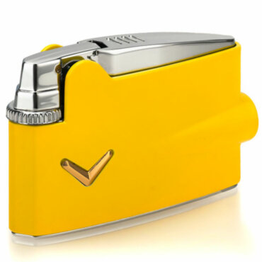 Зажигалка газовая Ronson Mini Varaflame Yellow Lacquer