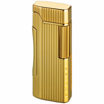 Зажигалка газовая Colibri Primo Polished Gold Lined
