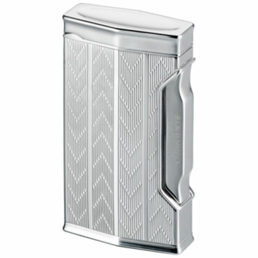 Зажигалка газовая Caran d'Ache CD 01 Rhodium Chevron, CD01-1004