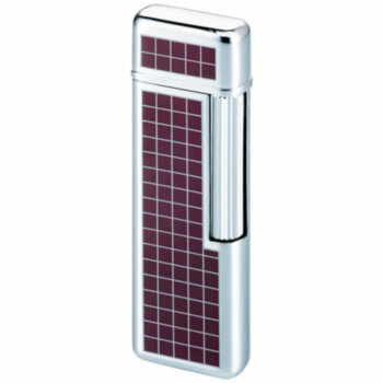 Зажигалка газовая Windmill M-29 Wine Red Tartan Lacquer