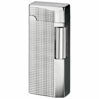 Зажигалка газовая Sarome SD41 Silver Lattice Diamond Cut